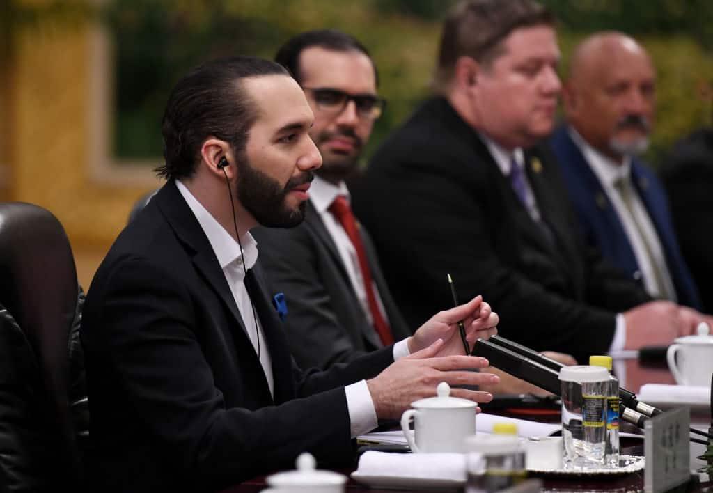 El Salvador President Nayib Bukele Visits Beijing