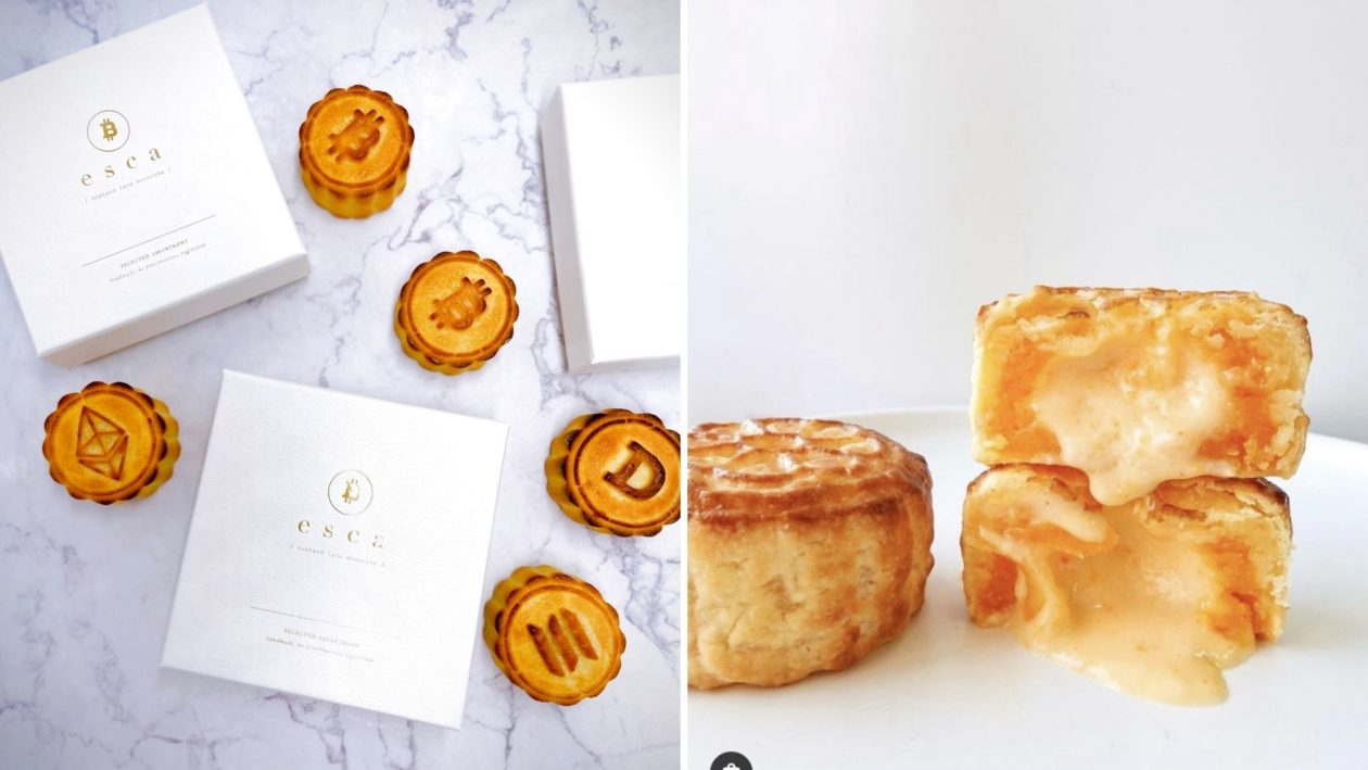 crypto mooncakes from Esca