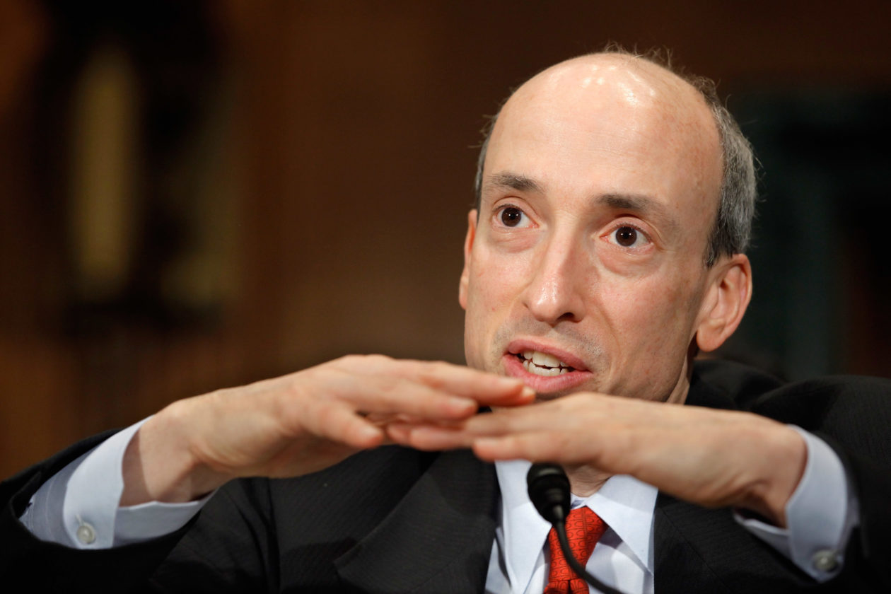 SEC Chair Gary Gensler says most cryptocurrencies including stablecoins are securities