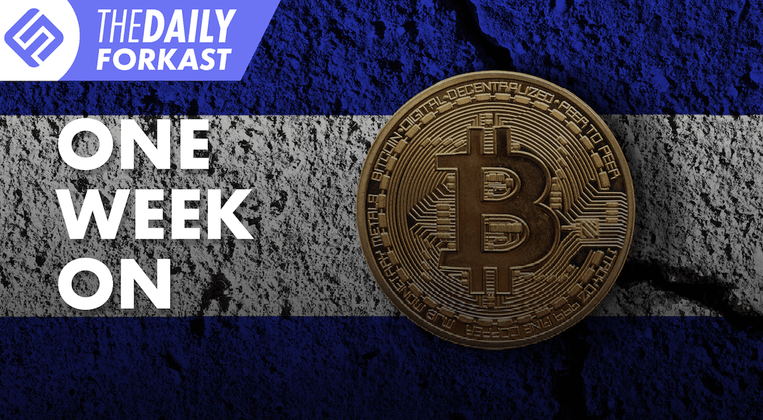 Black Friday for Korean exchanges; E-CNY launch in final stretch