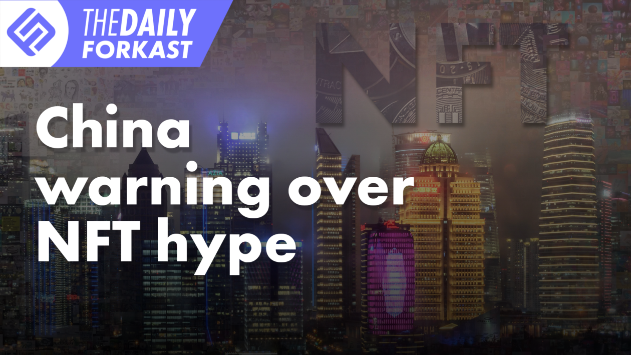 E-CNY problems to be solved, also China sees warning over NFT hype