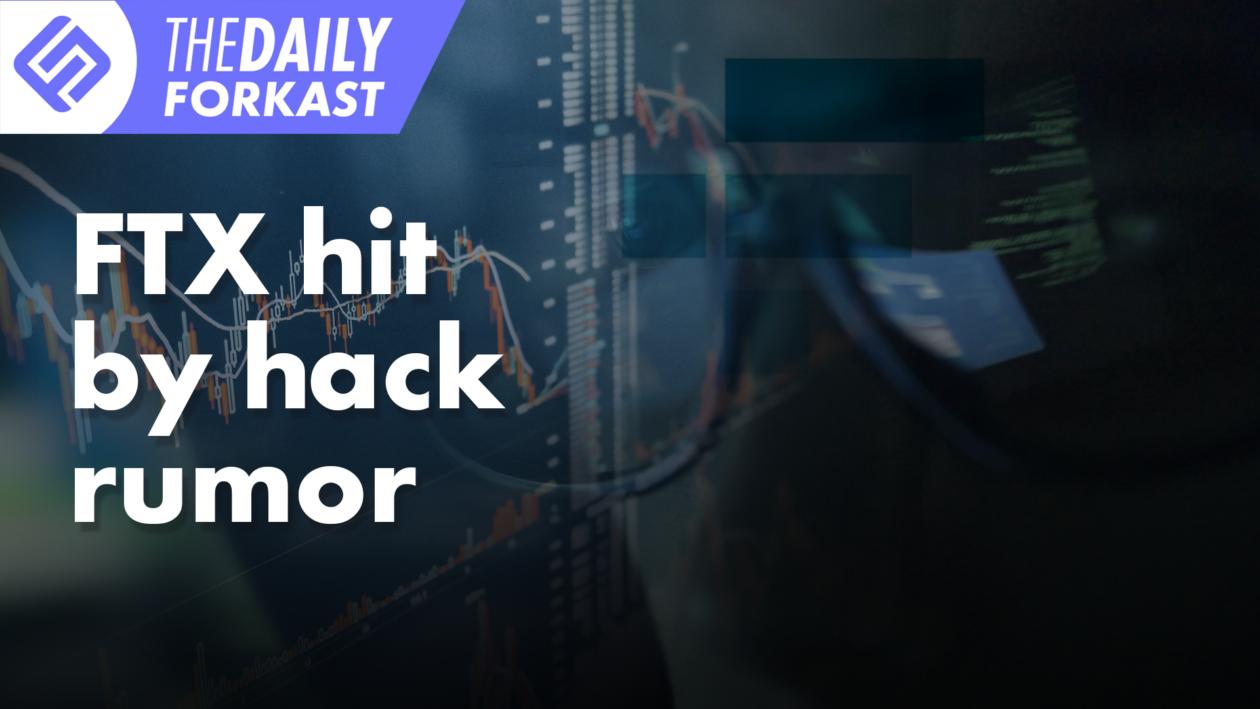 FTX hit by hack rumor; Korea updates crypto death note
