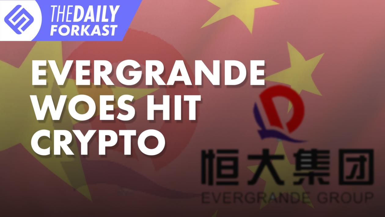 Evergrande Woes Hit Crypto