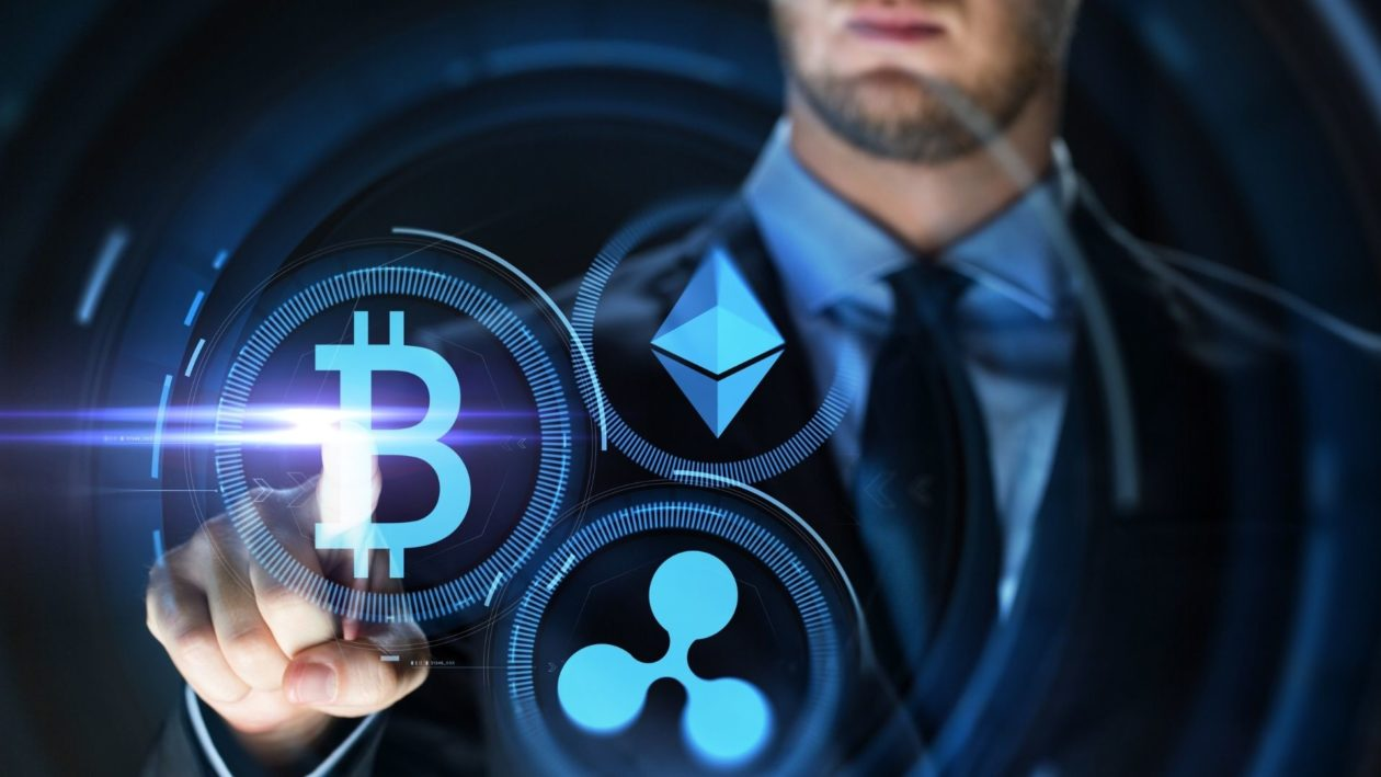 Bitcoin, Ethereum Ether and XRP