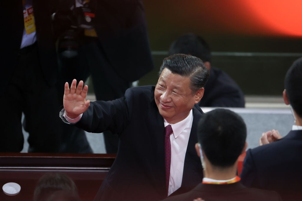 China Celebrates 100th Anniversary Of The Communist Party At Mass Gala
