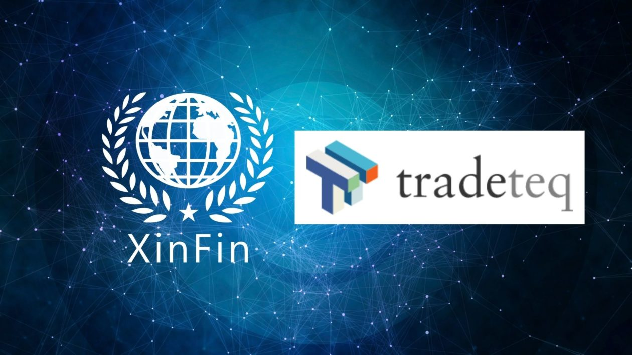 XinFin's XDC Network and Tradeteq
