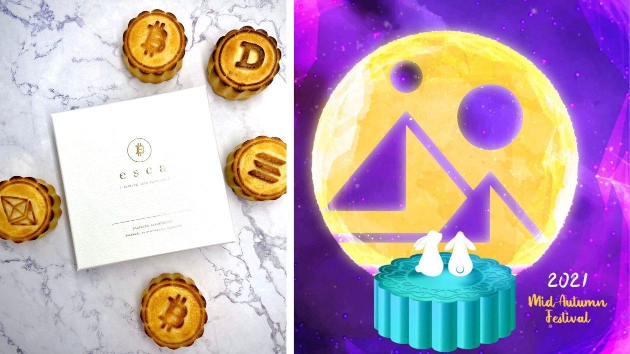 Crypto mooncake and mooncake NFT