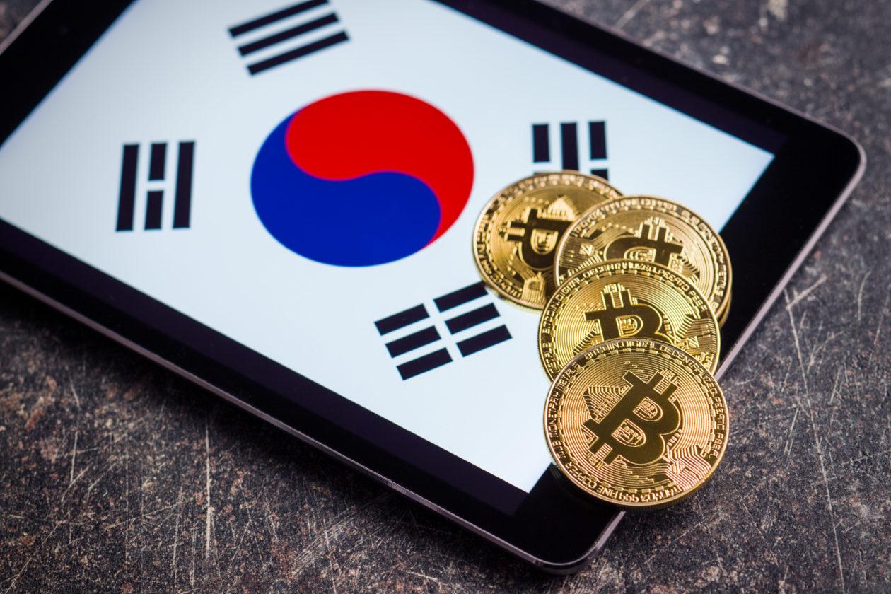 Golden bitcoins and South Korea flag | South Korea's NH Nonghyup Bank makes investment in crypto custodian Cardo