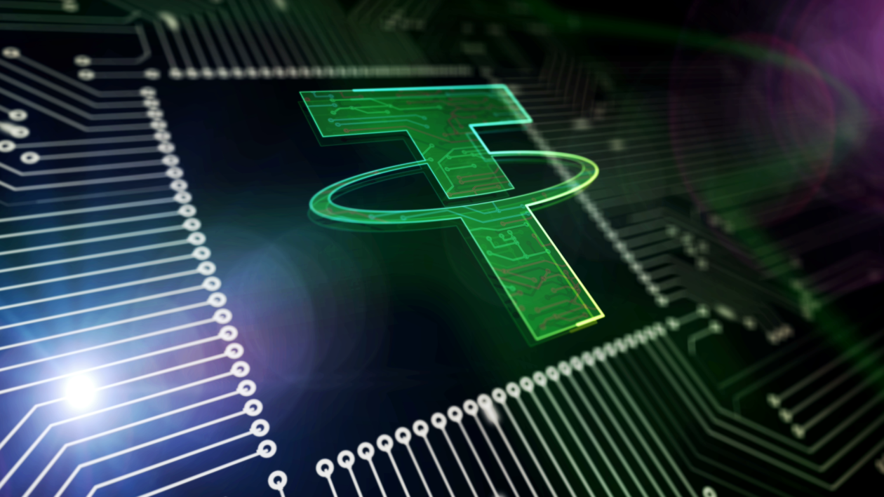 Tether, a kind of stablecoin