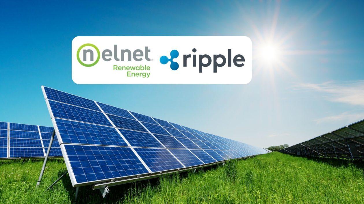 Ripple and Nelnet logos; solar panels