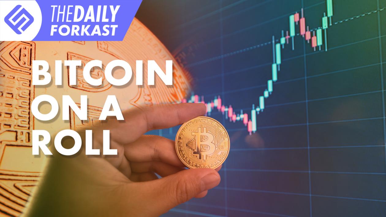 Bitcoin on a roll