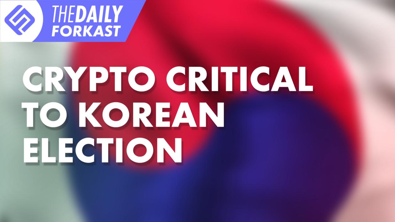 Crypto critical to Korean election